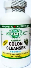 CURATITOR COLON NATURAL COLON CLEANSER, 100 capsule PRODUS NOU cu KONJAK + SENA