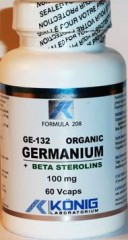 GERMANIU ORGANIC GE 132  100mg 60 capsule